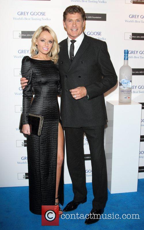 Hayley Roberts and David Hasselhoff 11
