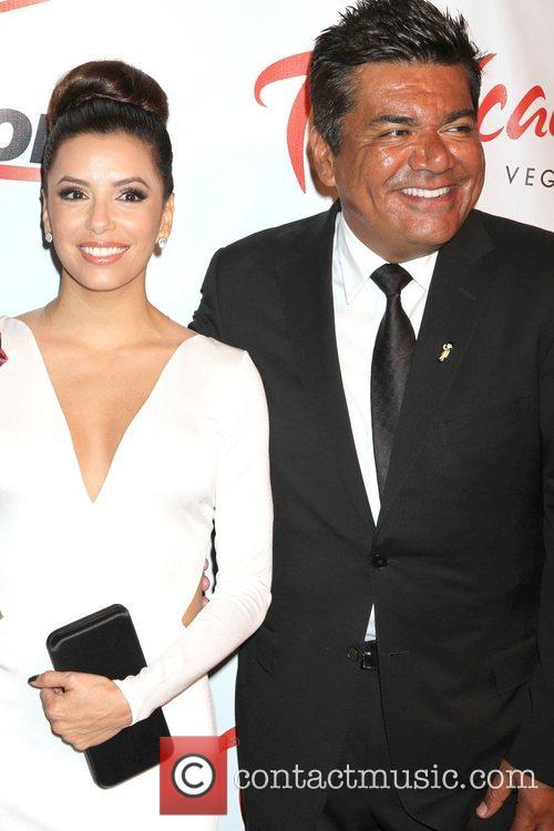 Eva Longoria and George Lopez 8