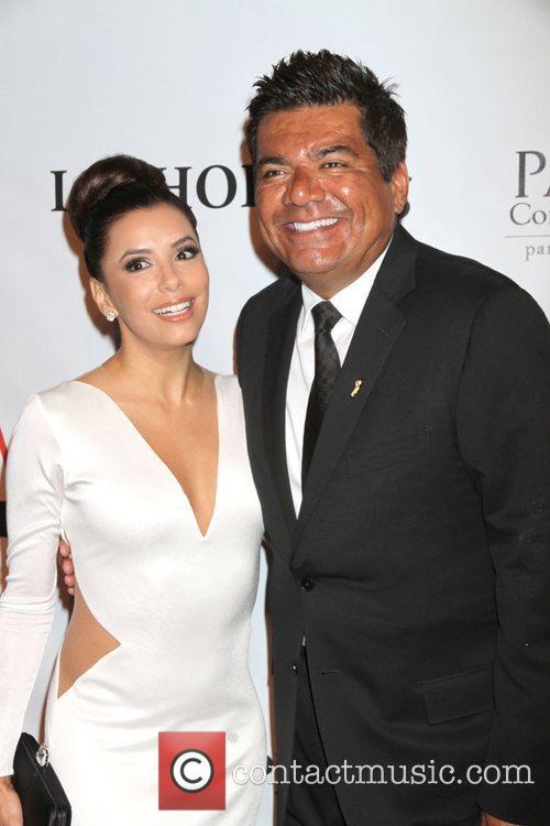 Eva Longoria and George Lopez 6