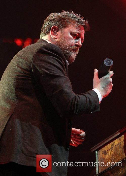 Elbow perform live at the O2 Arena in...