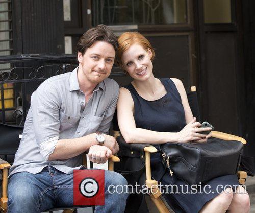 James McAvoy, Jessica Chastain