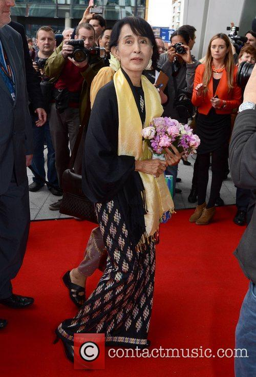 Guests honour Aung San Suu Kyi at The...