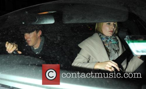 Benedict Cumberbatch Celebrities leave the Electric Cinema in...