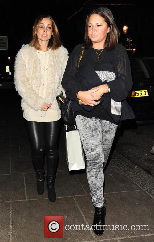 Louise Redknapp Celebrities leave the Electric Cinema in...