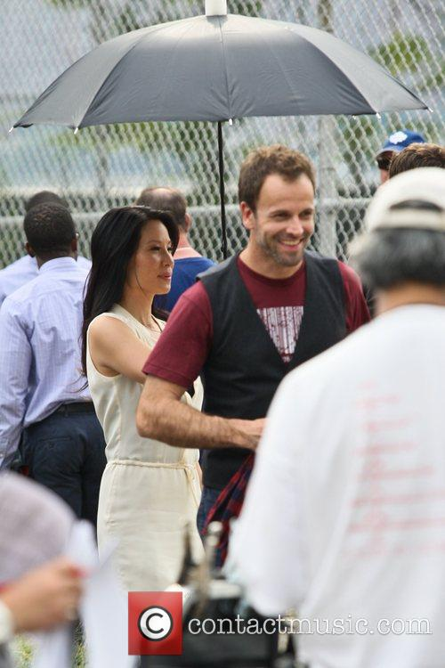 Jonny Lee Miller and Lucy Liu 3