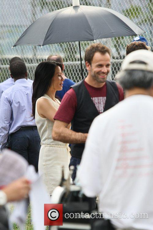 Jonny Lee Miller and Lucy Liu 4