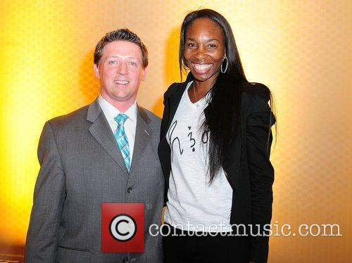 Venus Williams and InterContinental Miami General Manager Robert...