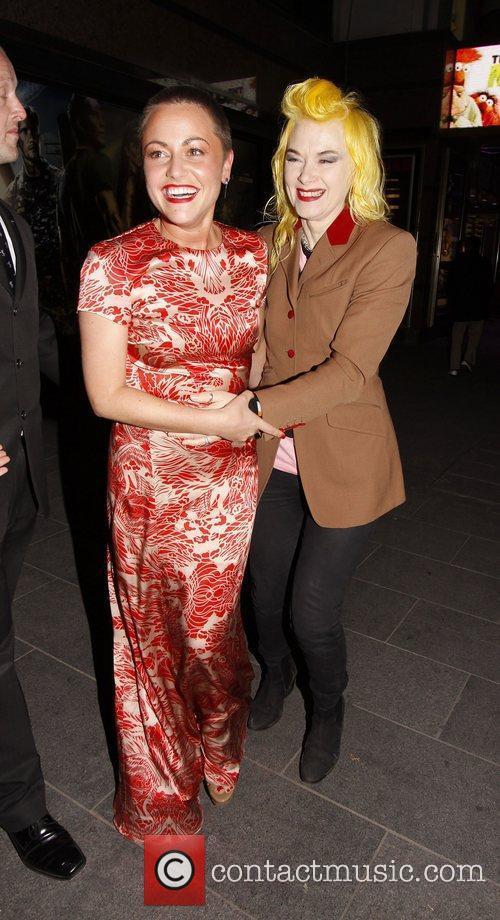 Jaime Winstone and Pam Hogg 1