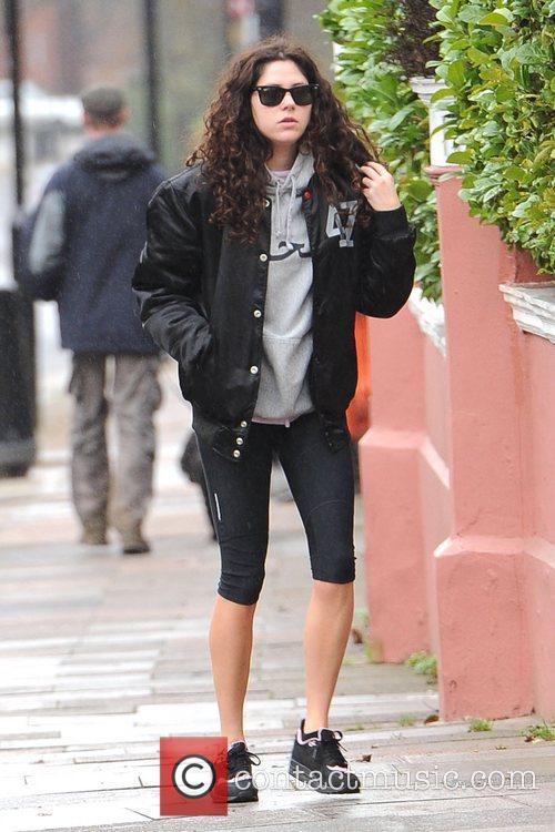 british singer eliza doolittle is seen heading 5972216