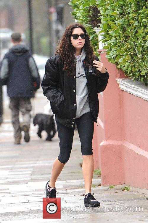 British singer Eliza Doolittle is seen heading to...