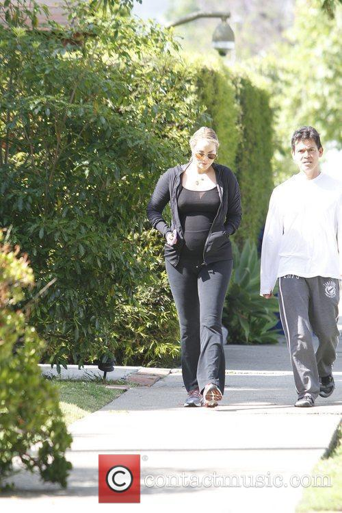 elizabeth berkley seen heading to the gym 5828341