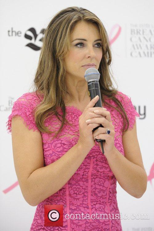 Elizabeth Hurley  makes an appearance at The...