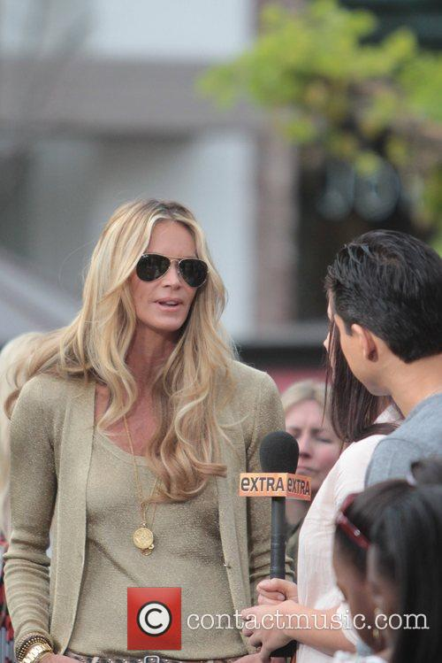 Elle Macpherson at The Grove to appear on...