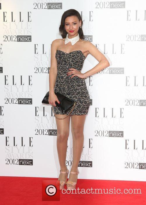 Leah Weller The Elle Style Awards 2012 held...