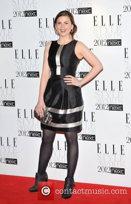 Hayley Atwell ELLE Style Awards held at the...