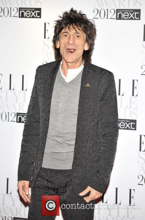 Ronnie Wood ELLE Style Awards held at the...