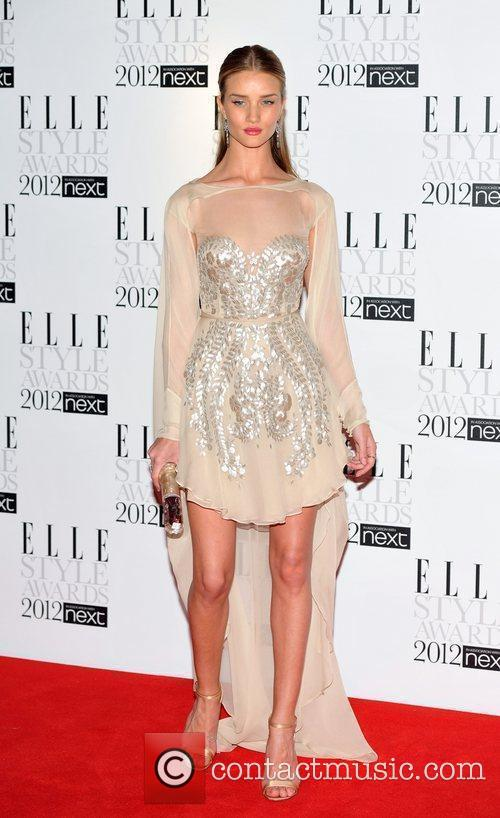 Rosie Huntington-Whiteley ELLE Style Awards held at the...