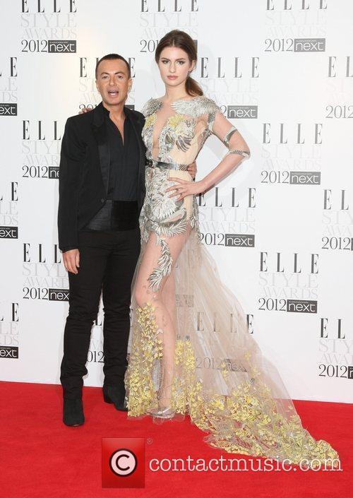 Julien McDonald and Tali Lennox The Elle Style...