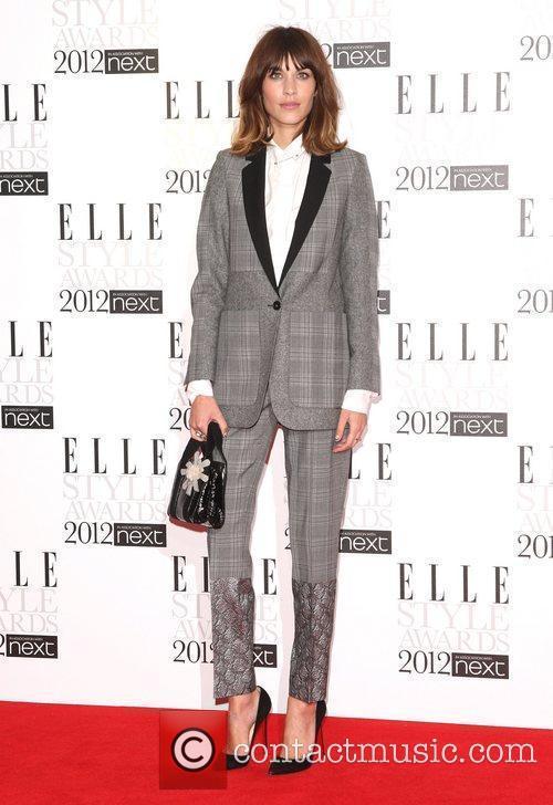 Alexa Chung The Elle Style Awards 2012 held...
