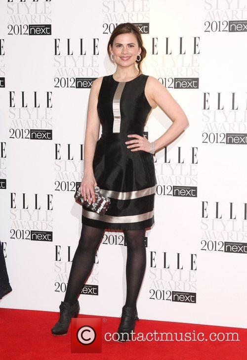Hayley Atwell The Elle Style Awards 2012 held...