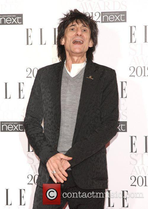Ronnie Wood The Elle Style Awards 2012 held...