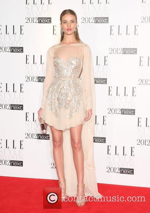 Rosie Huntington-Whiteley The Elle Style Awards 2012 held...