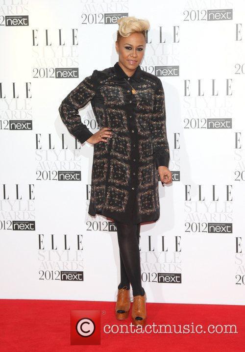 Emeli Sande The ELLE Style Awards 2012 held...