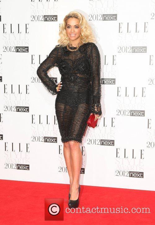 Rita Ora The ELLE Style Awards 2012 held...