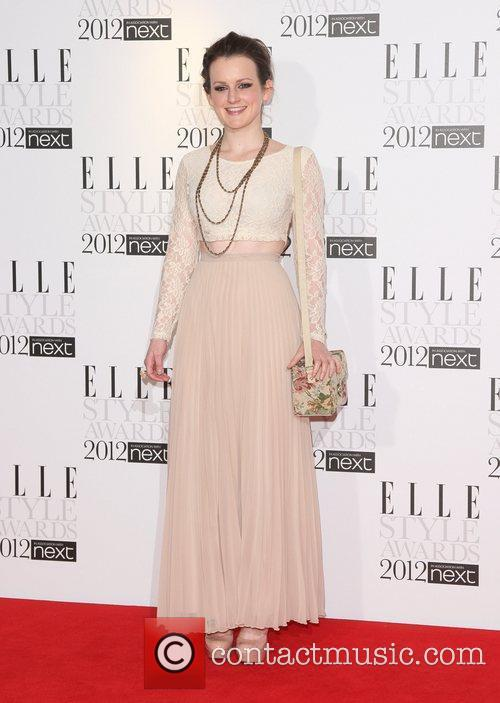 Sophie McShera The ELLE Style Awards 2012 held...