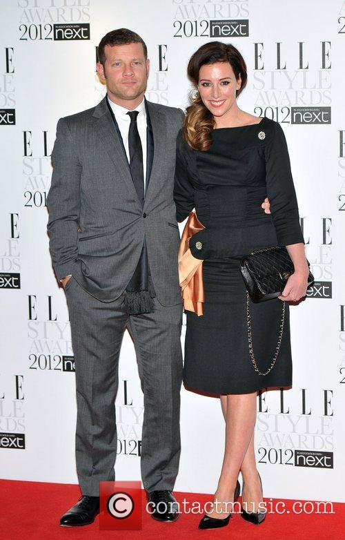 Dermot O'Leary and guest ELLE Style Awards held...