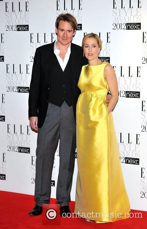 Gillian Anderson and guest ELLE Style Awards held...