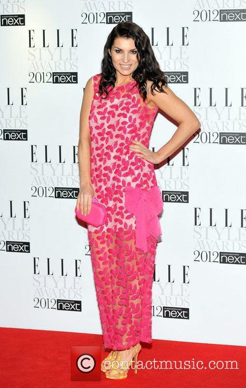 Grace Woodward ELLE Style Awards held at the...