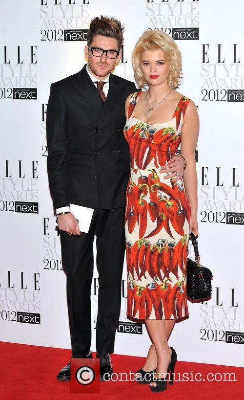 Henry Holland and Pixie Geldof ELLE Style Awards...
