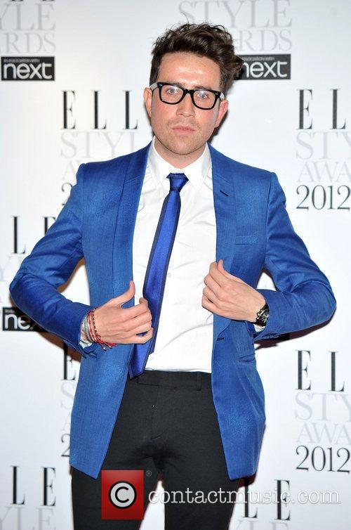 Nick Grimshaw ELLE Style Awards held at the...
