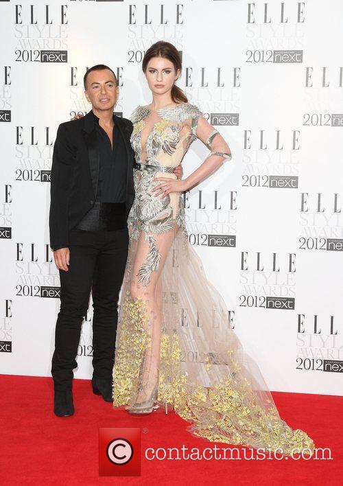 Julien MacDonald and Tali Lennox The Elle Style...