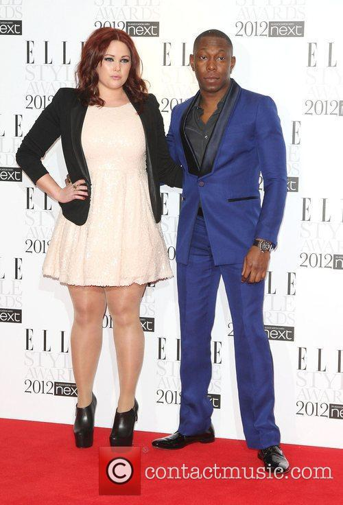 Dizzie Rascal and guest The Elle Style Awards...