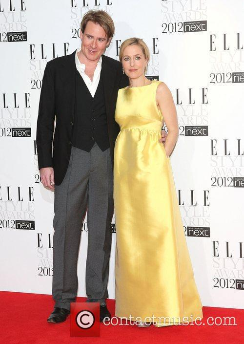 William Banks Blaney and Gillian Anderson The Elle...