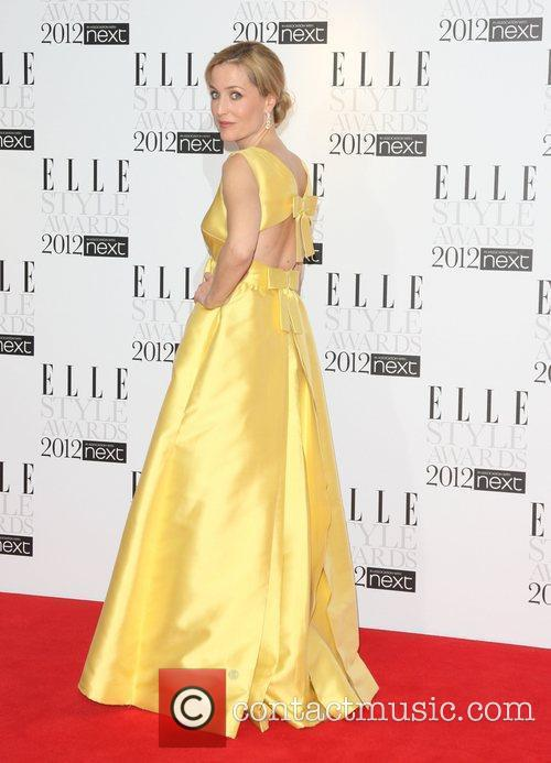 Gillian Anderson The Elle Style Awards 2012 held...
