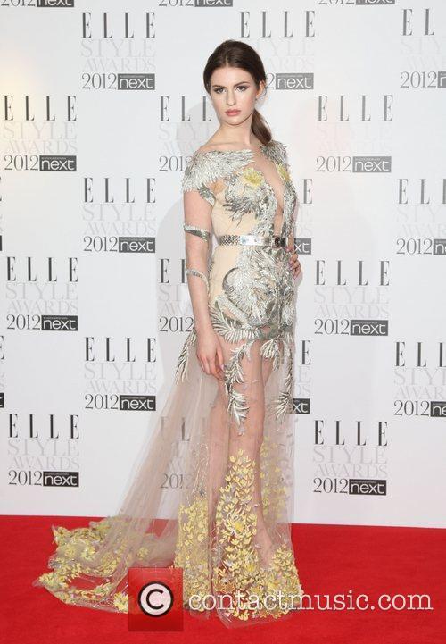 Tali Lennox The Elle Style Awards 2012 held...