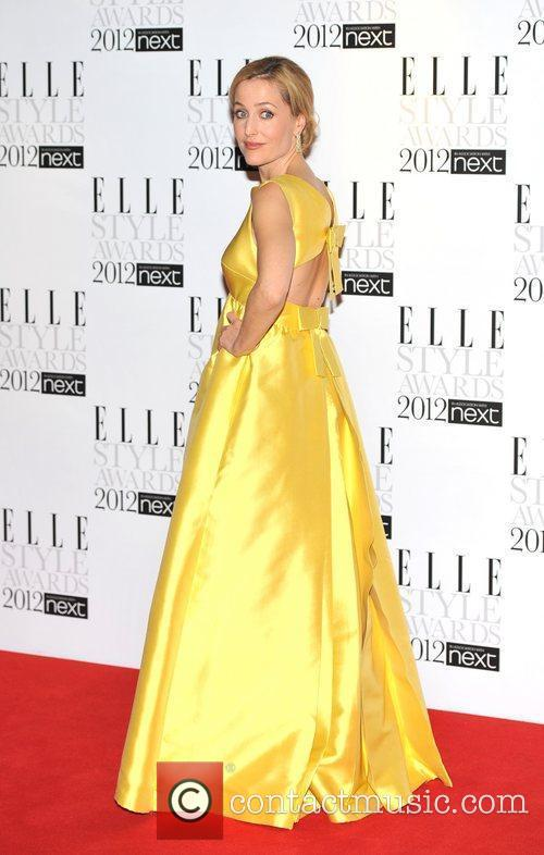 Gillian Anderson ELLE Style Awards held at the...