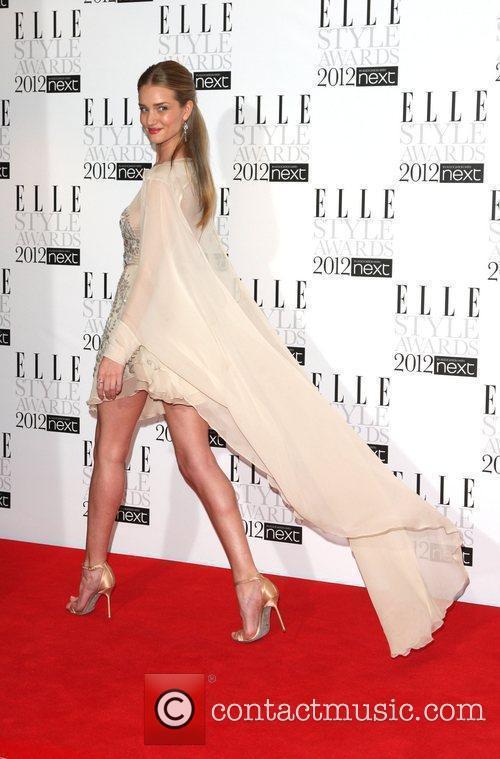 Rosie Huntington Whiteley The Elle Style Awards 2012...