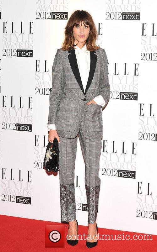 Alexa Chung ELLE Style Awards held at the...