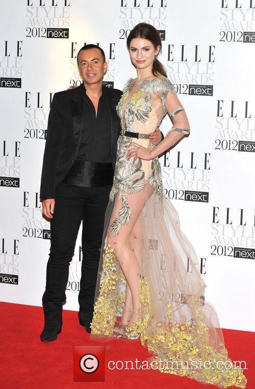 Julien Macdonald and Tali Lennox ELLE Style Awards...