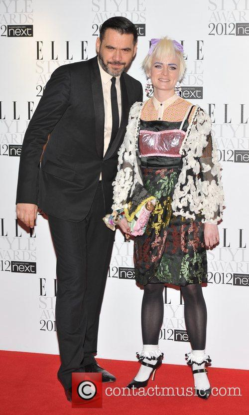 Roland Mouret and guest ELLE Style Awards held...