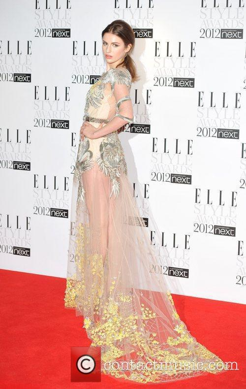 Tali Lennox ELLE Style Awards held at the...