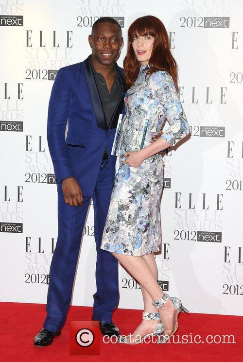 Dizzee Rascal, Florence And The Machine and Florence Welch 2