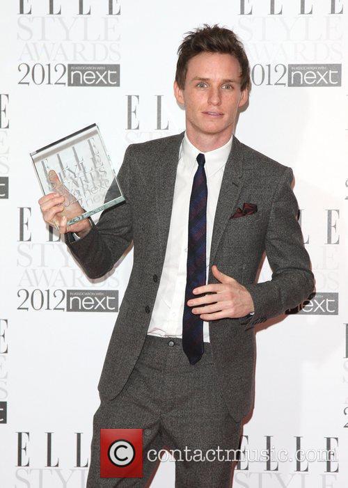 Eddie Redmayne, Best Actor winner The Elle Style...