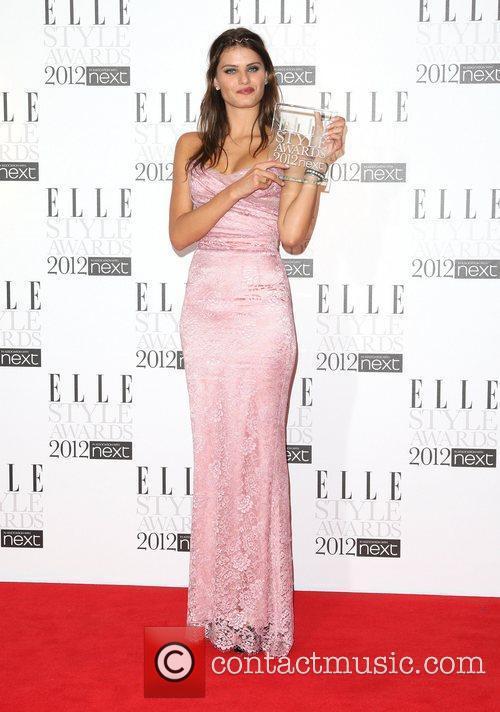 Isabeli Fontana winner of Best model The Elle...