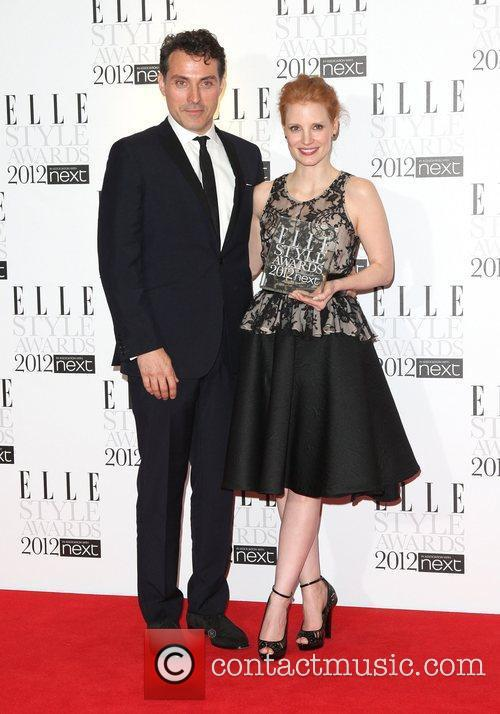 Jessica Chastain and Rufus Sewell 2