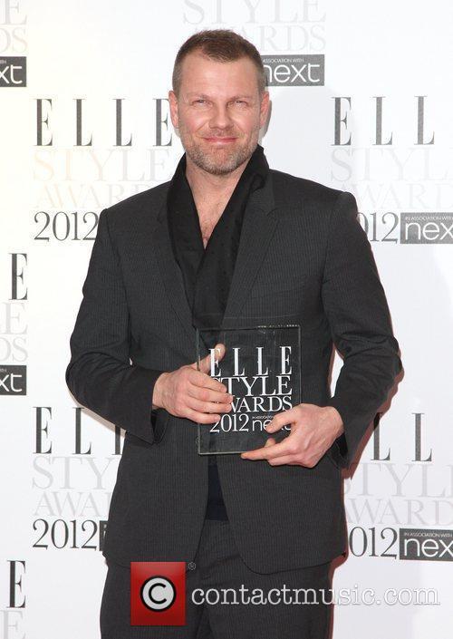 Jonny Johansson, Contemporary Brand of the Year winner...